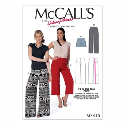 Shorts/Hose , McCalls 7415 | 32 - 48