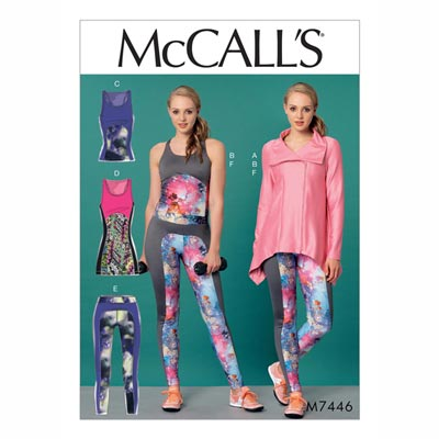 Top/Leggings, McCalls 7446 | 32 - 40