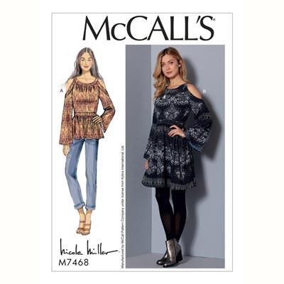Kleid, McCalls 7468 | 32 - 40
