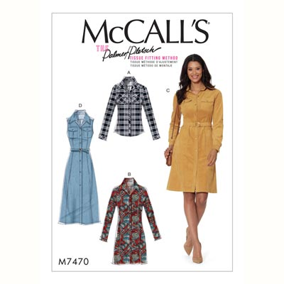 Kleid, McCalls 7470 | 32 - 40