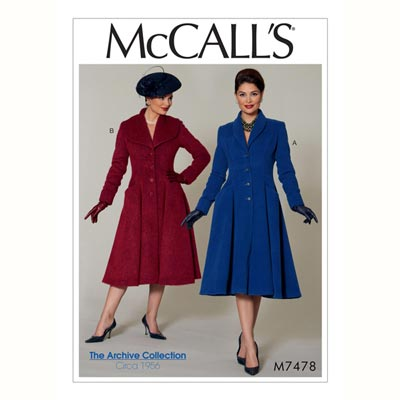 Mantel, McCalls 7478 | 40 - 48