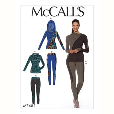 Jacke/Leggings, McCalls 7482 | 32 - 40