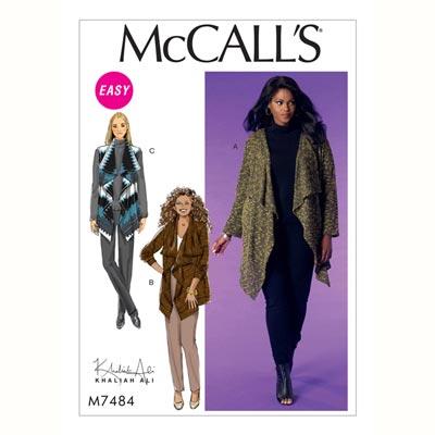 Jacke, McCalls 7484 | 34 - 42
