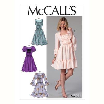 Kleid, McCalls 7500 | 32 - 40