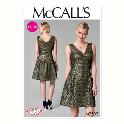 Kleid, McCalls 7502 | 32 - 40