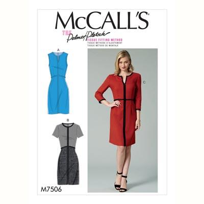 Kleid, McCalls 7506 | 32 - 40