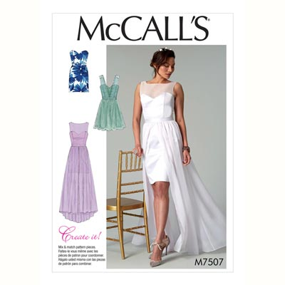 Kleid, McCalls 7507 | 32 - 40