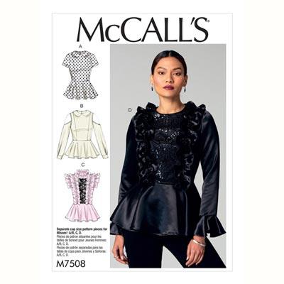 Top, McCalls 7508 | 32 - 40