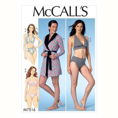 Morgenmantel/Tageswäsche, McCalls 7516 | 42 - 52