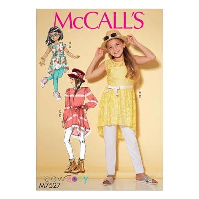 Mädchen-Tunika / Leggings, McCalls 7527 | 104 -