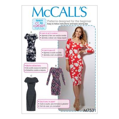 Kleid, McCalls 7531 | 30 - 40