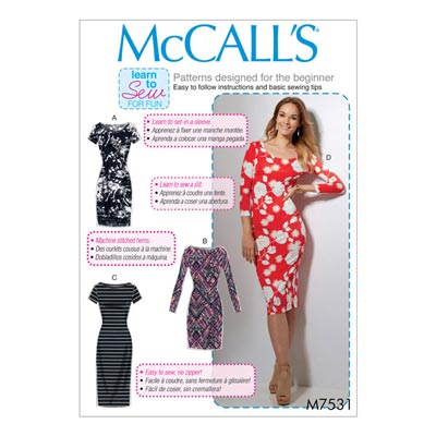 Kleid, McCalls 7531 | 42 - 52