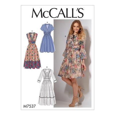 Kleid, McCalls 7537 | 40 - 48