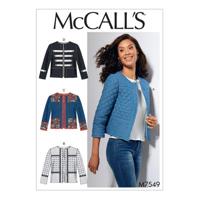 Jacke, McCalls 7549 | 40 - 48