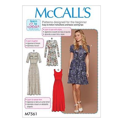 Kleid, McCalls 7561 | 32 - 40