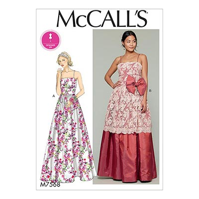 Abendkleid, McCalls 7568 | 32 - 40