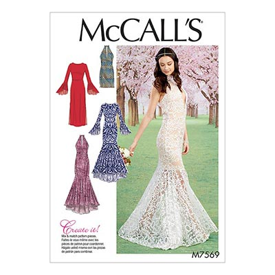 Abendkleid, McCalls 7569 | 32 - 40