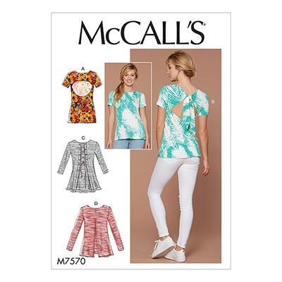 Top, McCalls 7570 | 32 - 40