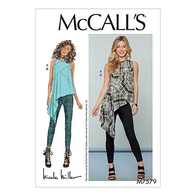 Damen Top Hose, McCalls 7579 | 32 - 40