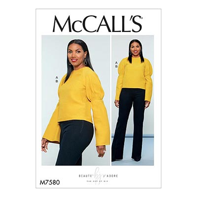 Raglan-Top/Hose, McCalls 7580 | 40 - 48