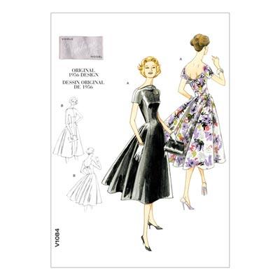 Kleid - Vintage, Vogue 1084 | 32 - 38