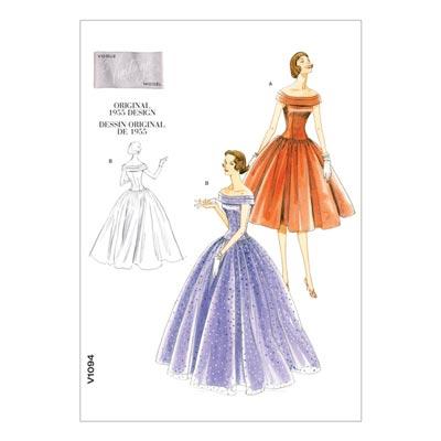 Kleid - Vintage 1955, Vogue 1094 | 32 - 38