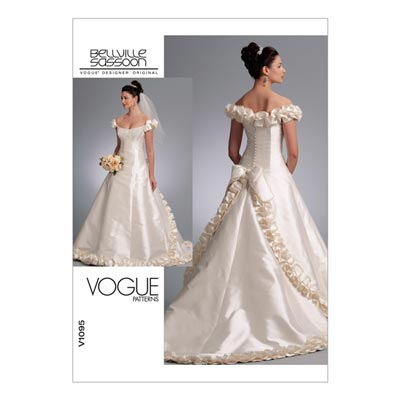Brautkleid, Vogue 1095 | 32 - 36