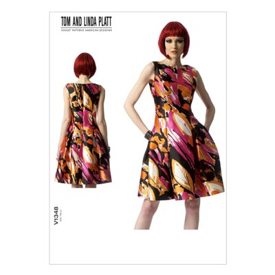 Kleid by Tom and Linda Platt, Vogue 1348 | 40 - 48
