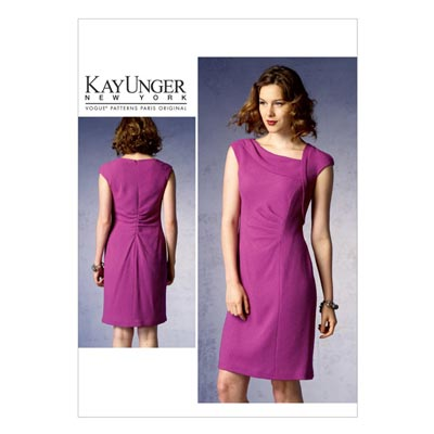 Kleid by Kay Unger, Vogue 1369 | 42 - 50