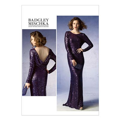 Abendkleid by Badgley Mischka, Vogue 1374 | 40 -