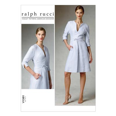Kleid by Chado Ralph Rucci, Vogue 1381 | 38 - 46