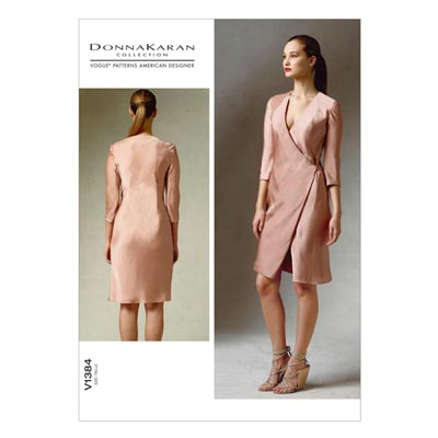 Kleid by Donna Karan, Vogue 1384 | 32 - 40