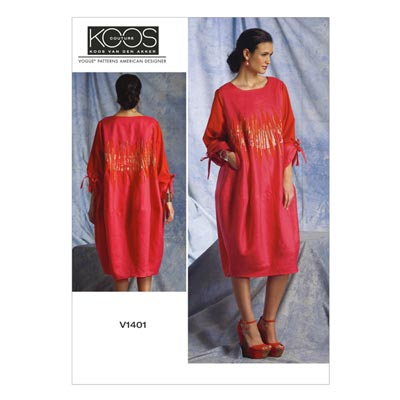 Kleid by Koos Couture, Vogue 1401 | 34 - 42