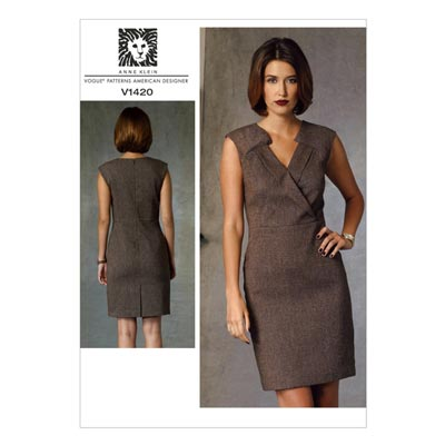 Kleid by Anne Klein, Vogue 1420 | 40 - 48