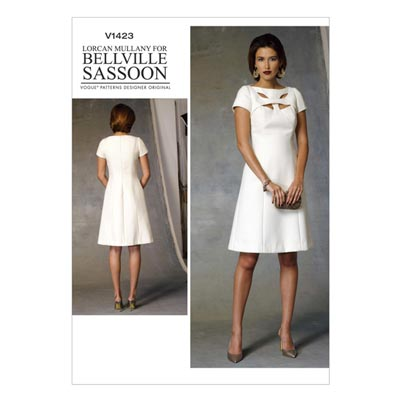 Kleid by Bellville Sassoon, Vogue 1423 | 40 - 48