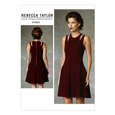 Kleid by Rebecca Tylor, Vogue 1424 | 32 - 40