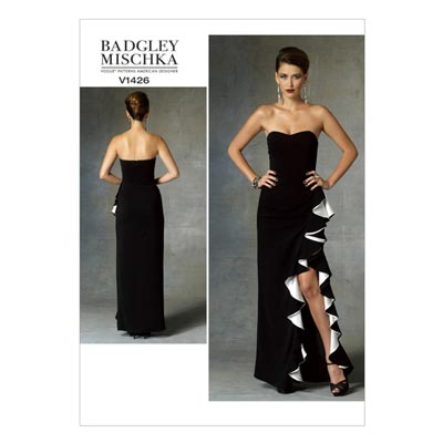 Abendkleid by Badgley Mischka, Vogue 1426 | 40 -