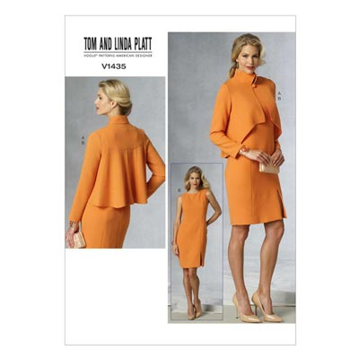 Jacke / Kleid, Tom and Linda Platt V1435