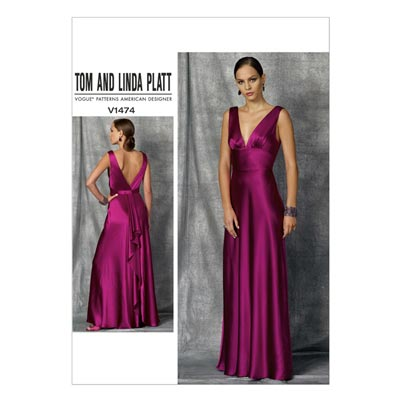 Abendkleid, Vogue 1474 | 30 - 38