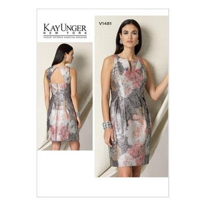 Kleid, Vogue 1481 | 40 - 48