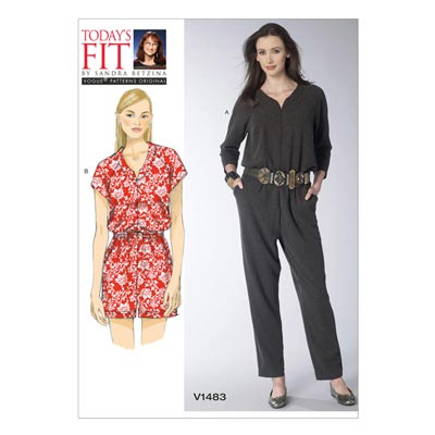Jumpsuit, Vogue 1483 | One Size