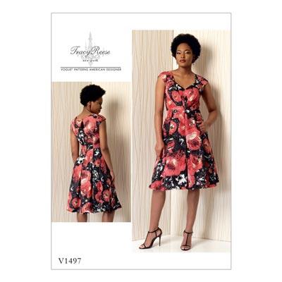 Kleid, Vogue 1497 | 40 - 48