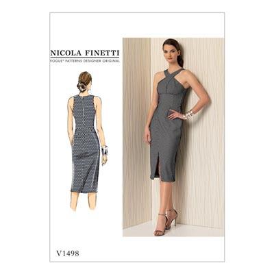Kleid, Vogue 1498 | 32 - 40