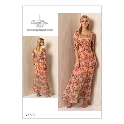 Maxikleid, Vogue 1502 | 32 - 40