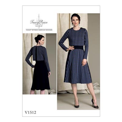 Kleid, Vogue 1512 | 32 - 40