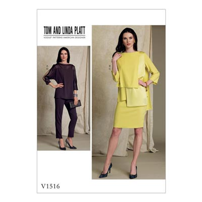 Pullover, Vogue 1516   40 - 48