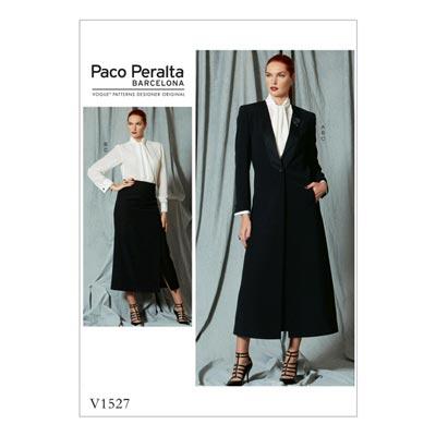 Mantel/Rock/Bluse, Paco Peralta 1527 | 36 - 44