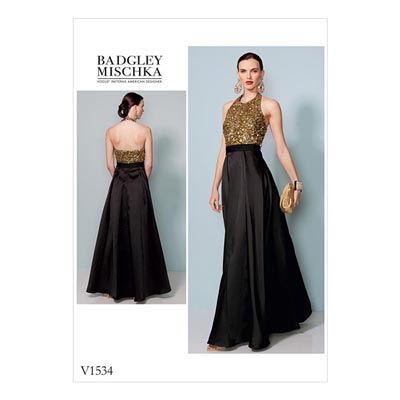 Kleid, Badgley Mischka 1534 | 32 - 40