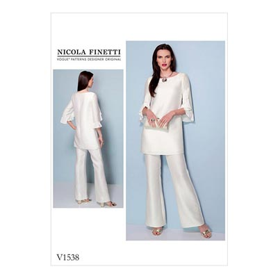 Tunika / Jumpsuit, Nicola Finetti 1538 | 40 - 48