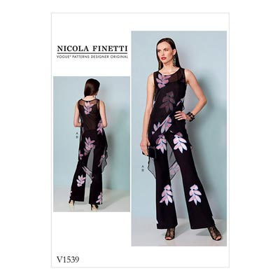 Tunika / Jumpsuit, Nicola Finetti 1539 | 40 - 48
